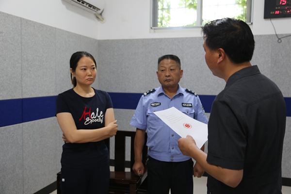 钟祥法院制裁虚假诉讼 当事人被拘留罚款